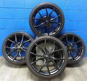 4 Ford Focus Rs 2016-2018 Rims Aly10085 And Continental Extremecontact Sport Tires