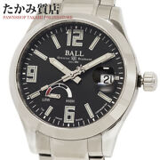 Ball Watch Engineer 3 Pioneer Power Reserve Pm9026c Menand039s From Japan N0915
