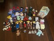 Madeline Doll Lot Of 7 Dolls Huge Lot Of Clothes Shoes And More Nona Nicole ...