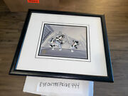 Warner Bros. Animaniacs Production Cel Framed 17x20 Signed By Voice Overs 7892