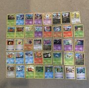 Pokemon Black And White Card Lot 40 Cards Lp Condition