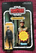 Star Wars Kenner Canada Empire Strikes Imperial Commander Moc Figure Canadian
