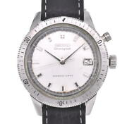 Seiko One-push Chronograph 5717-8990 Silverdial Hand Winding Menand039swatch I103320