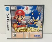 Mario And And Sonic At The Olympic Games Nintendo Ds Brand New Sealed Ships Fast