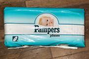 Vintage Pampers Phases 28 Diapers Newborn 1992 Disney Mickey Donald Pandg Usa New