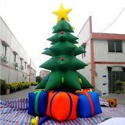 20ft Inflatable Christmas Tree Yard Lawn Decor Outdoor Airblown With Air Blower