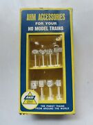 Ahm 5612 Ho Scale Rail Road And Traffic Signs 23 Piece Set