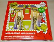 Dr. Seuss 5 Foot Tall Hang On Indoor Outdoor Christmas Decoration New