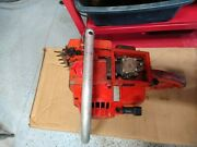 Vintage Homelite Super Xl Automatic Chainsaw Has Spark And Comp. Parts Or Repair