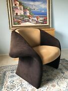 Beautiful Two Tone Modern Lounge Chair Made In Italy