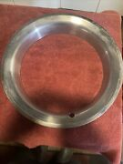One 1980 Chevy Truck Rally Wheel Beauty Rings 15x 3 Deep Factory Oem