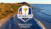 4 Tickets Ryder Cup Thursday 9/23/21 Whistling Straits. Ga Grounds. Free Ship.