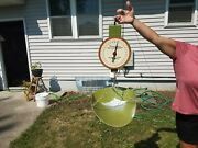 Vtg American Family Scale Hanging Scale Olive Green Mercantile Hardware Store