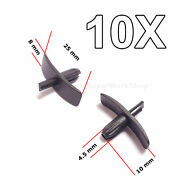10x Weatherstrip Seal Clips For Door Gaskets, Boot And Bonnet Seals For Volvio