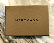 Hartmann - Wallet - Belting Leather - Aged - Trifold - Mens - New