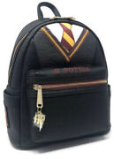 Loungefly Harry Potter Cosplay Robe And Tie Mini Backpack Gryffindor Uniform Nwt