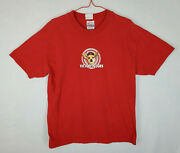 Vintage 1999 Taco Bell Revolution Chihuahua Shirt Men's Size Large, Red Cotton