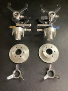 1/4 Scale Cobra Control Arms Set Left And Right Chrome 2