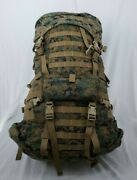 Usmc Marpat Ilbe Gen 2 - Main And Aslt. Pack/cover/radio Pouch/waist Belt Vg Cond.