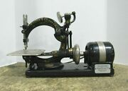 Antique Pre-1930 Willcox And Gibbs Automatic Noiseless Sewing Machine Parts/repair