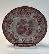 Royal Staffordshire Dinnerware By Clarice Cliff Tonquin Saucer 10 Inch Diameter