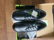 Sr Max Womenand039s Marshall Black Slip Resistant Work Oxford Shoes