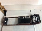 2011 2012 2013 2014 Audi A8 S8 Front Center Console Brown Trim Cup Holder Oem