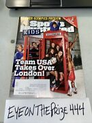 July 2012 Sports Illustrated For Kids Magazine + Cards Lebron James 567a