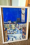 Gouache And Watercolour Painting Of Jean Dufy Probably Italy 1954-1955