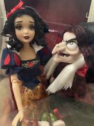 Disney Fairytale Designer Limited Edition Snow White And The Witch Hag Doll Set