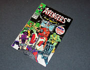 54 Vf+ 1st Appearance Ultron New Masters Of Evil Marvel Avengers Movie Stan Lee