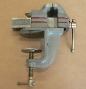 Vintage Stanley 763 2 Clamp-on Bench Vise