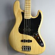 Electric Bass Guitar Fender American Original And03970s Jazz Bass Natural Used