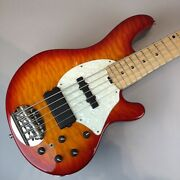 Electric Bass Guitar Lakland Shoreline Series Sl55-94 Deluxe Used Maple Ash