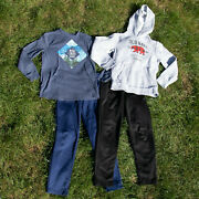 Boys Clothes Lot Size 10-12 Large Youth Fall Winter Lot Old Navy Activewear