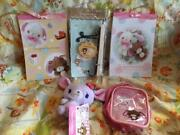 Sugarbunnies Goods Note Mascot 5 Set Lot Sanrio From Japan Trackingex Condition