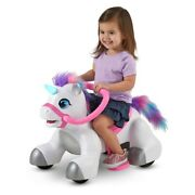 Rideamals Unicorn Ride-on Toy By Kid Trax 6-volt Toddler Powered New