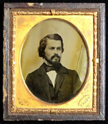 1850and039s Original Mathew Brady Double Sided Ambrotype Antique Photo / Unidentified