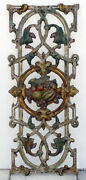 Antique Cast Iron Panel Fence Balcony Railing Architectural Salvage New Orleans