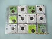1869-1879 Indian Head Cents40 Pcs.8see List 1800.