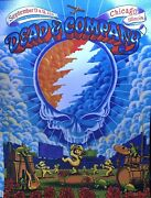 Dead And Company Wrigley Field Poster 2021 Chicago Concerts James Flames Cubs