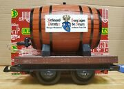 Lgb 4047 G-scale Wine Barrell Car -- Pre-owned