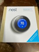 Nest 2nd Generation Learning Thermostat T200577 Brand New Opened Box