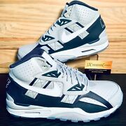 Nike Air Trainer Sc High Georgetown Men's Shoes Size 13 Wolf Grey New Dm8320-001