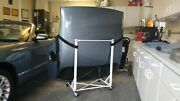 2002 03 04 05 Thunderbird Oem Removable Hard Top Med Steel Blue Hoist And Stand