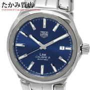 Tag Heuer Link Caliber 5 Wbc2112 Menand039s From Japan N0918
