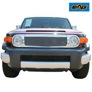 Chrome Stainless Steel Wire Mesh Packaged Grille Fit For 07-14 Toyota Fj Cruiser