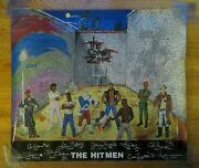 80s New England Patriots The Hitmen At The Combat Zone Poster Andre Tippett