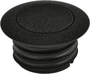 Harddrive Pop-up Screw In Smooth Vented Gas Cap 03-0328b-a Wrinkle Black