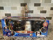 Doctor Who Revelation Of The Daleks Figure Set And Remembrance 7th Dr Figure